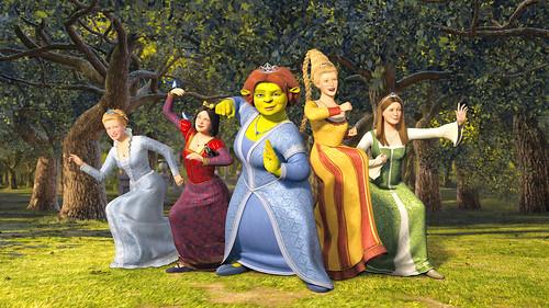 Princesas de Shrek