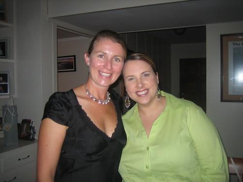 Jacki & Joanna @ the party