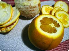 orangettes: peel