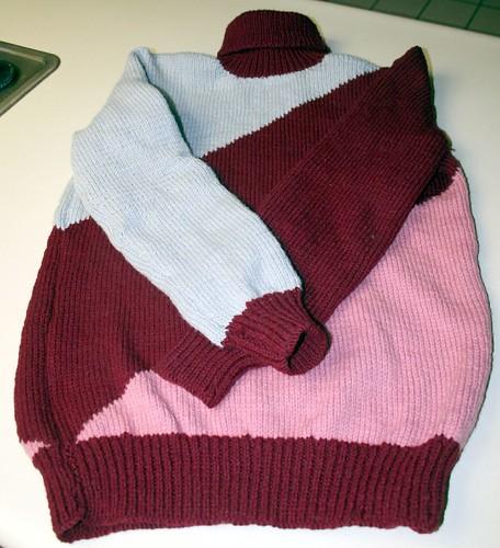 grammie sweater done