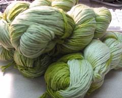 worsted lanas puras