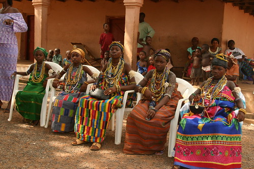 the dipo ceremony of the krobo girls in ghana photo by Retlaw Snellac Photography