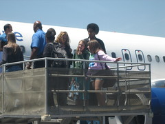 Micaela and Jessica land in Burbank