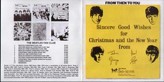 Beatles - Christmas Album Cover Front