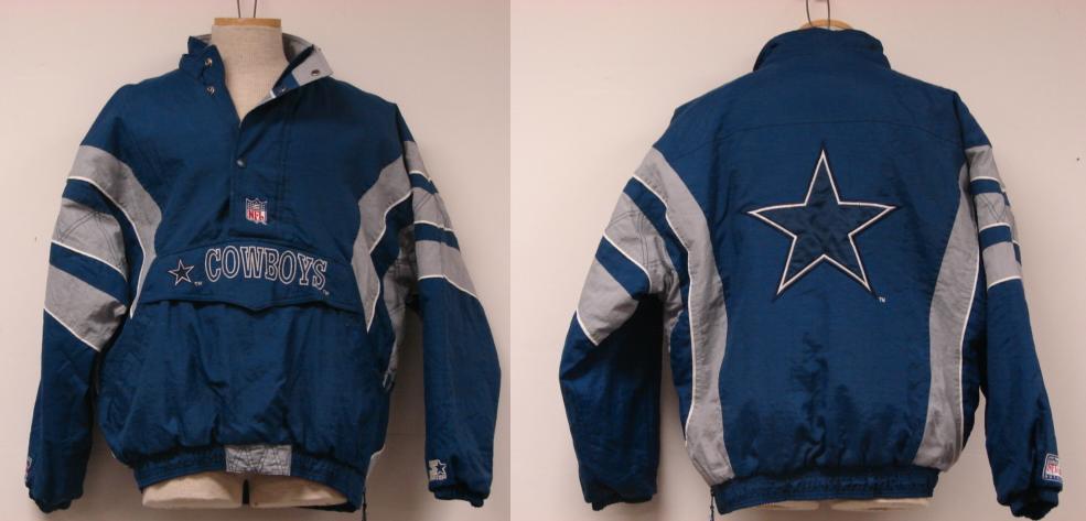 cowboy starter jacket