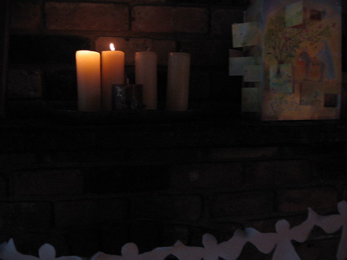 advent candles, 2nd Sunday