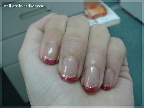nail art - 阿拉伯舞孃