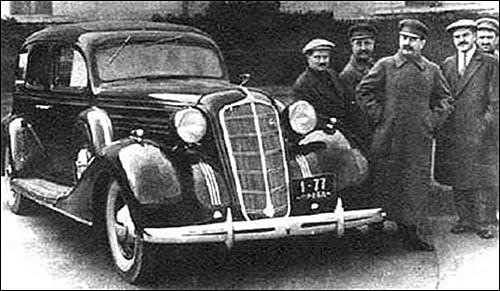 авто сталина фото