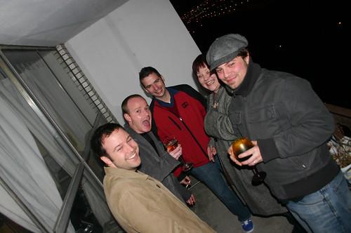 Balcony riff raff