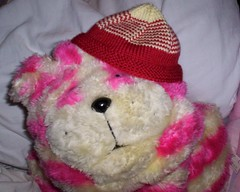 bagpuss baby hat