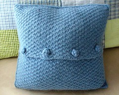 Menorah pillow back