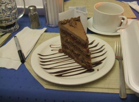 Prague chocolate cake