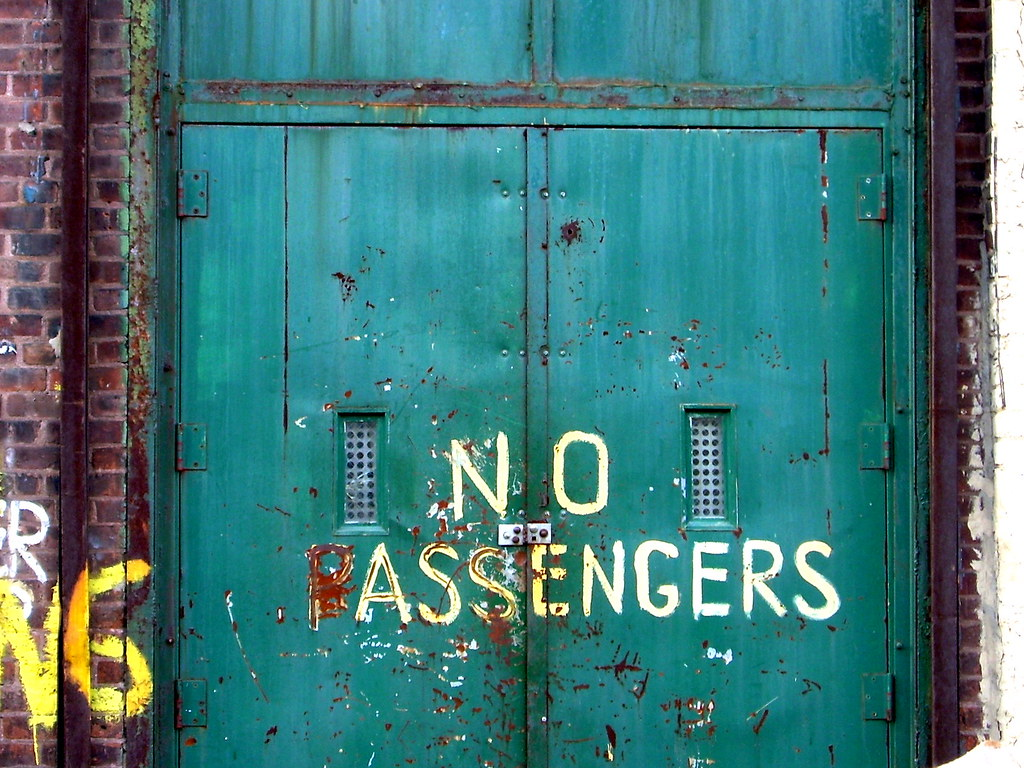 no passengers, sunset park