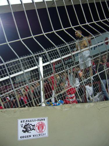 St. Pauli Fans gegen Rechts, auch in Tel Aviv