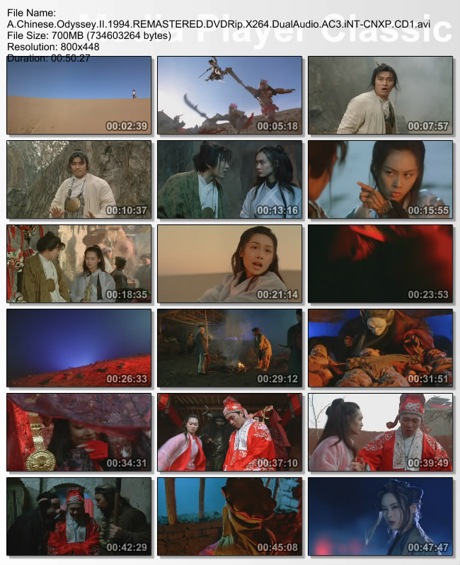A.Chinese.Odyssey.II.1994.REMASTERED.DVDRip.X264.DualAudio.AC3.iNT-CNXP.CD1