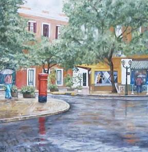 pintores argentinos en esta tarde gris jorge dandolo
