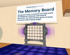 Alzheimer's Exhibit in Second Life - Game