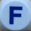 Boggle Letter F
