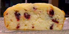 cranberry lemon loaf
