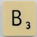 Scrabble Letter B