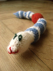 toy snake photo by komankova