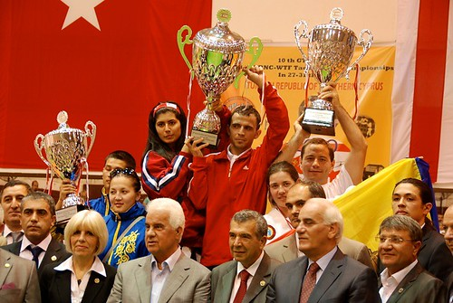 Team Taekwon-Do Moldova took the cup from Cyprus II Championship