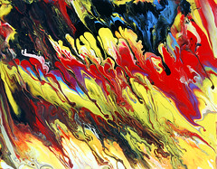 Fluid Abstract painting photo by markchadwickart