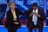 Senators Clinton and Obama