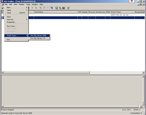 SQLProfilerScript