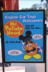 Build your own Mr. Potato Head