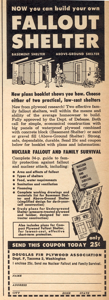 Fallout shelter ad