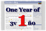 Un anno di Treviño's Blog - One year of 3v1n0