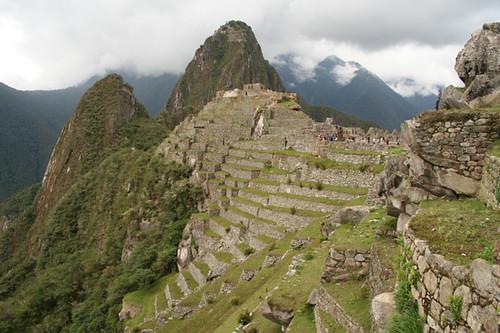 Zona agrícola del Machu Picchu