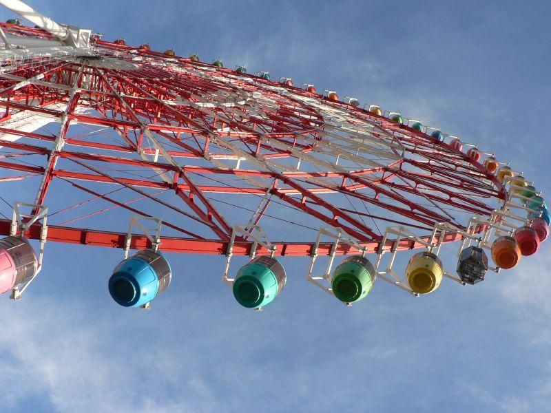 Giant Ferris Wheel @ Tokyo