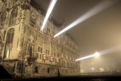 Gouda City Hall Fog, I