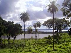 Paraguay, Altos, vista del Lago