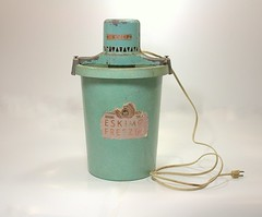 Vintage Teal Ice Cream Maker by Eskimo photo by SweetAnneVintage