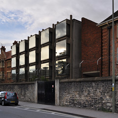 arup associates, philip dowson, partner: wolfson building, somerville college, oxford 1965-1967 photo by seier+seier