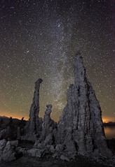 Milky Way At Mono Lake photo by photofanman