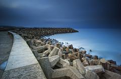 The Breakwater photo by Graham Stirling