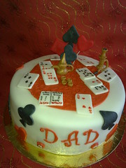 playing cards cake photo by ghada el tally