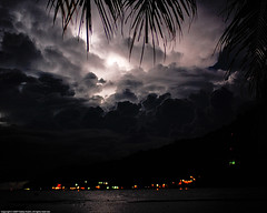 Lightning in Perhentian Island, Terengganu, Malaysia photo by Fadzly @ Shutterhack