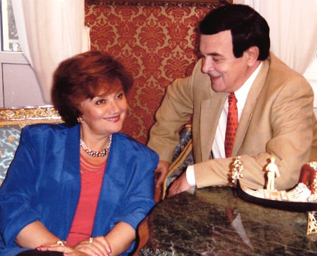 Т. Синявская и М. Магомаев