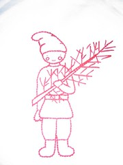 tomte embroidery