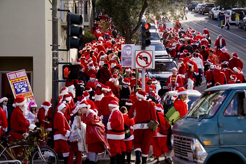 santas obey all crosswalks