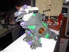 Tripticon in T-Rex mode