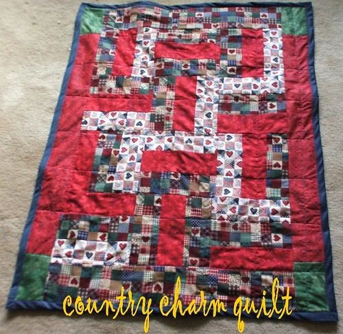 country charm baby quilt