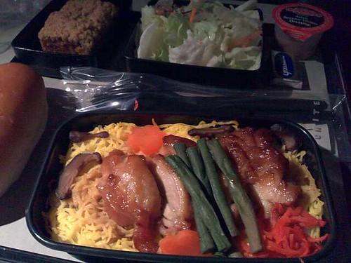 UA Econ Class Chicken Teriyaki