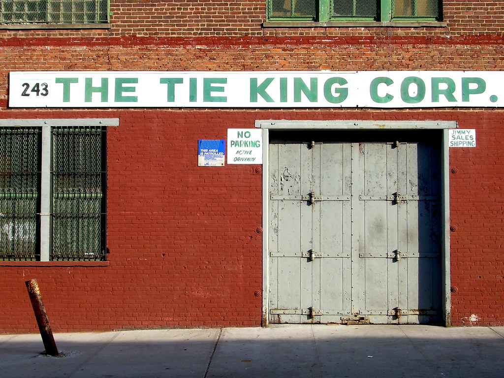 tie king, sunset park