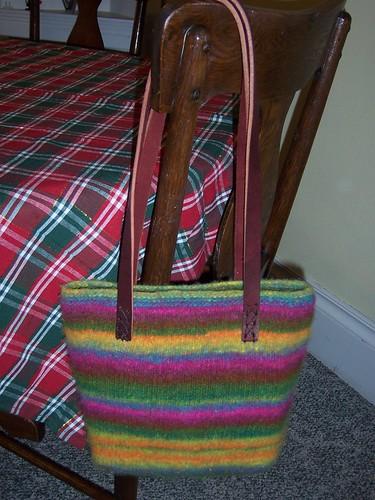 Mom's Felted Bag